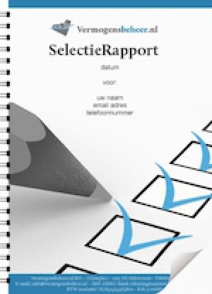 SelectieRapport met goed beoordeelde vermogensbeheerders